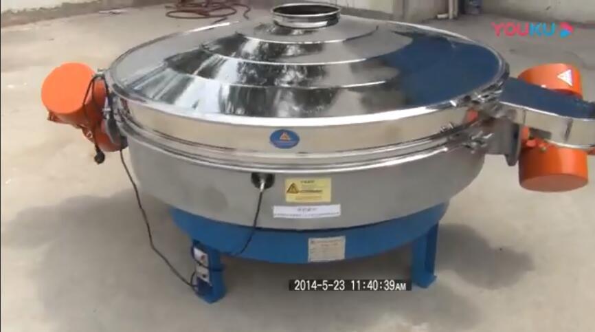 直径1.5米直排筛视频